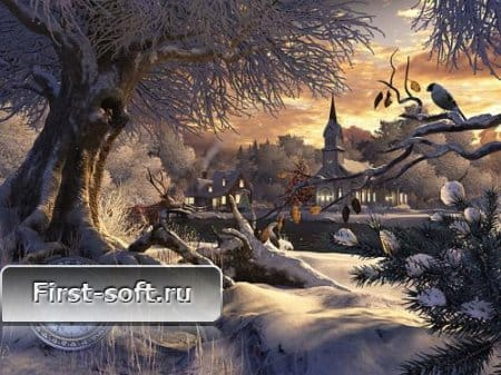 Winter Wonderland 3D Screensaver 1.0 + Patch