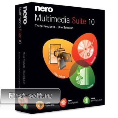 Nero Multimedia Suite 10 Rus + ключ