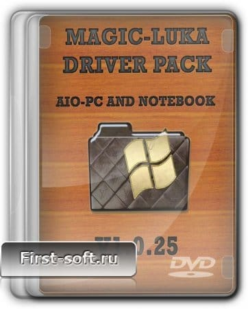 MaGiC-LUKA Driver Pack AIO-PC and Notebook v1.0.25 Rus
