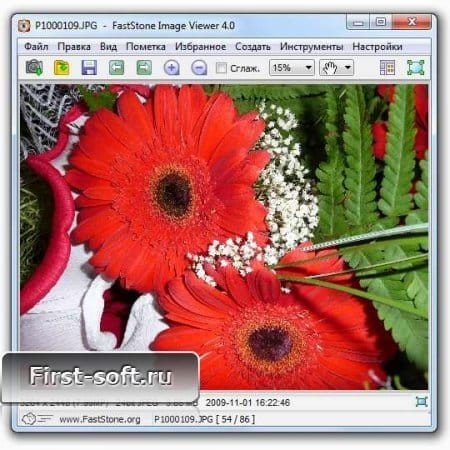 FastStone Image Viewer 4.0 Rus